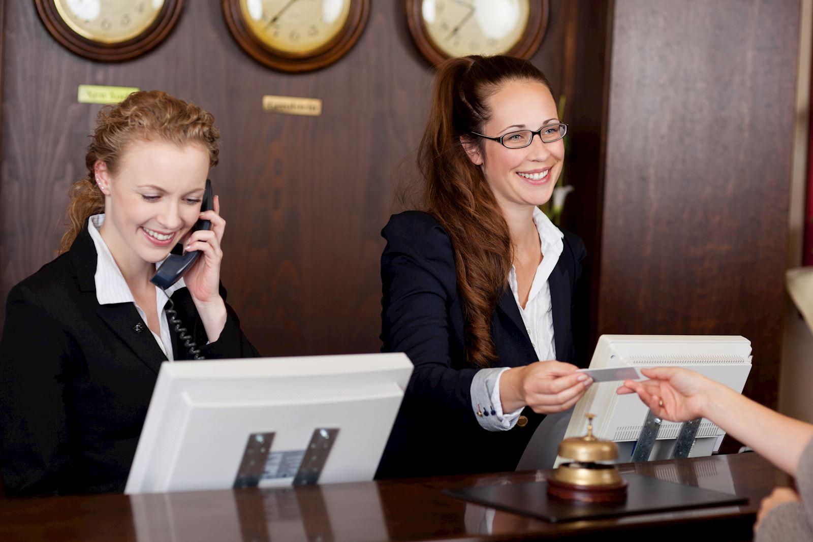 Besökssystem Reception Seriline